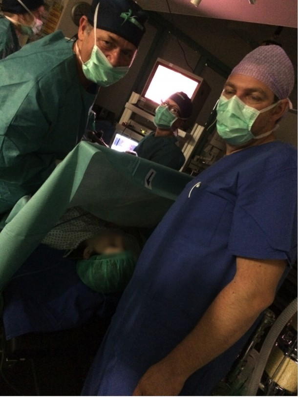 Laparoskopie ohne Vollnarkose